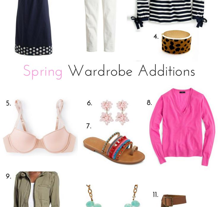Budget Friendly Spring Wardrobe Additions
