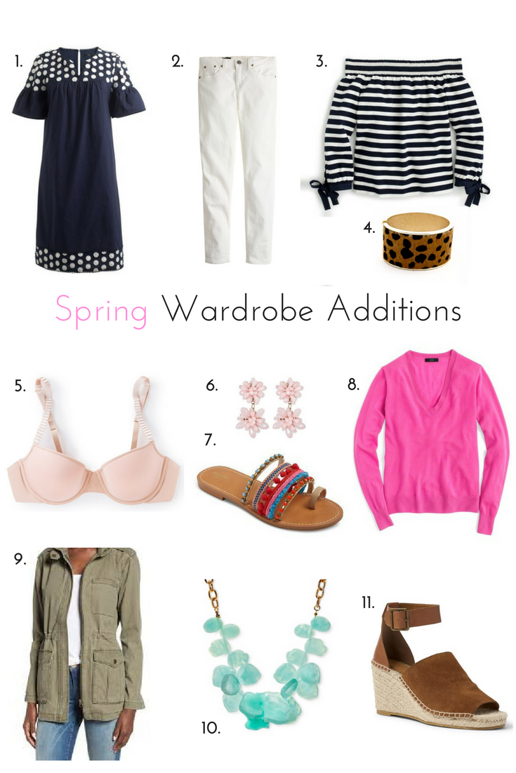 Budget Friendly Spring Wardrobe Additions