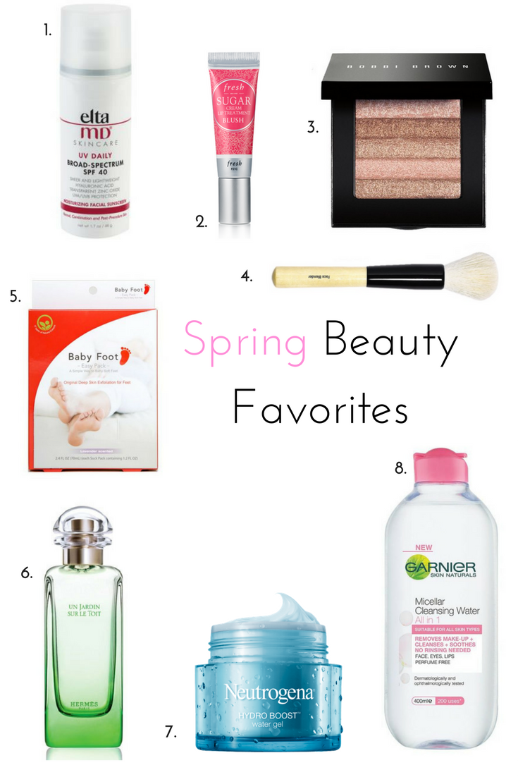 My Top Spring Beauty Buys