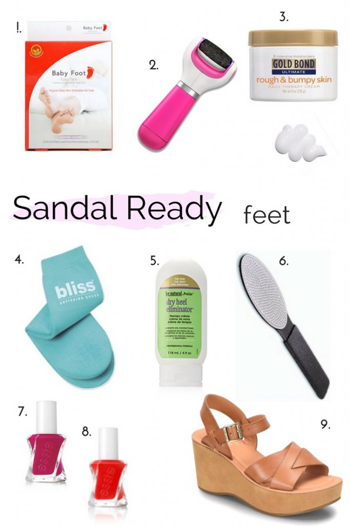 DIY PEDICURE | SANDAL SEASON | SANDAL READY HOW-TO | SANDAL READY | HOW TO REMOVE CALLOUSES | FOOT CARE | PEDICURE IDEAS | SPRING PEDICURE | SANDAL SEASON | DIY PEDICURE | #PEDICURE #SANDALSEASON #DYIPEDICURE