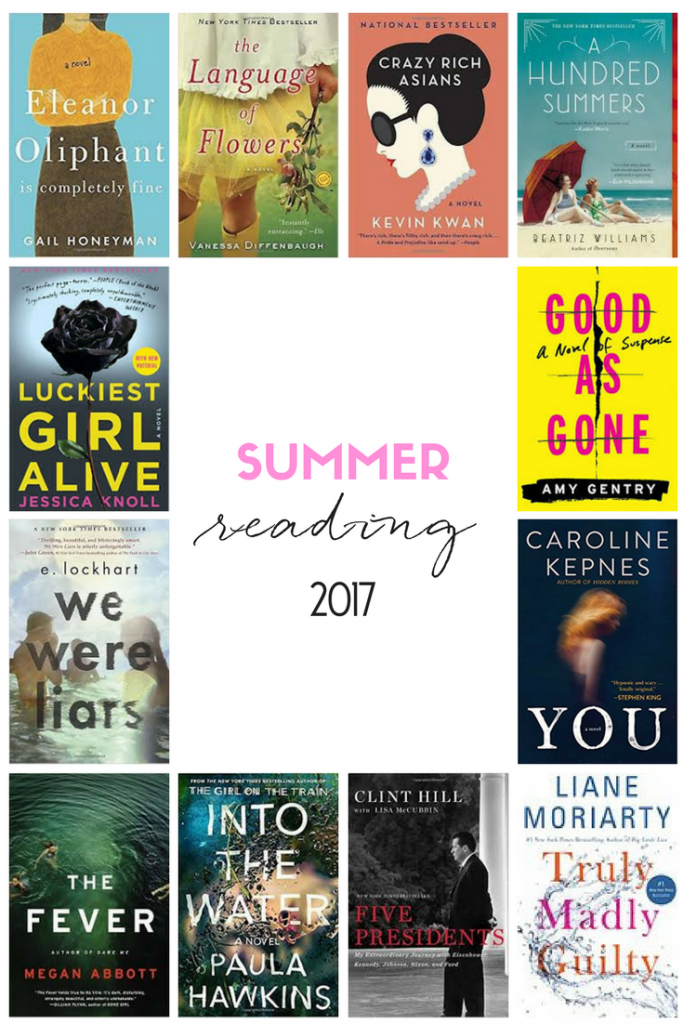 SUMMER READING | GOOD BOOKS | READING LIST | BEACH READING | BOOKS TO READ | GOOD BOOKS | READING IST FOR WOMEN