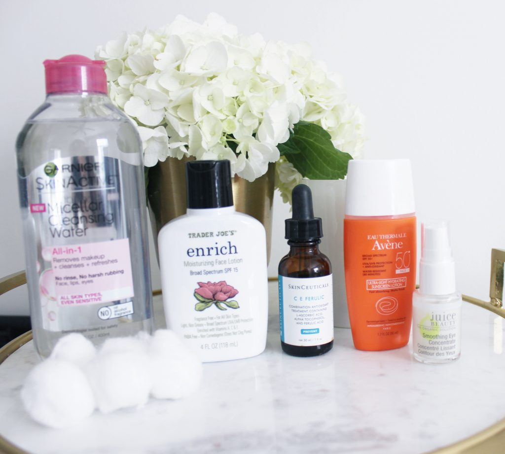 MORNING SKINCARE ROUTINE FOR SENSITIVE SKIN | THE BEST SKINCARE FOR SENSITIVE SKIN | DRUGSTORE BEAUTY | DRUGSTORE SKINCARE | #ROSACEA #SENSITIVESKIN #DRUGSTORESKINCARE