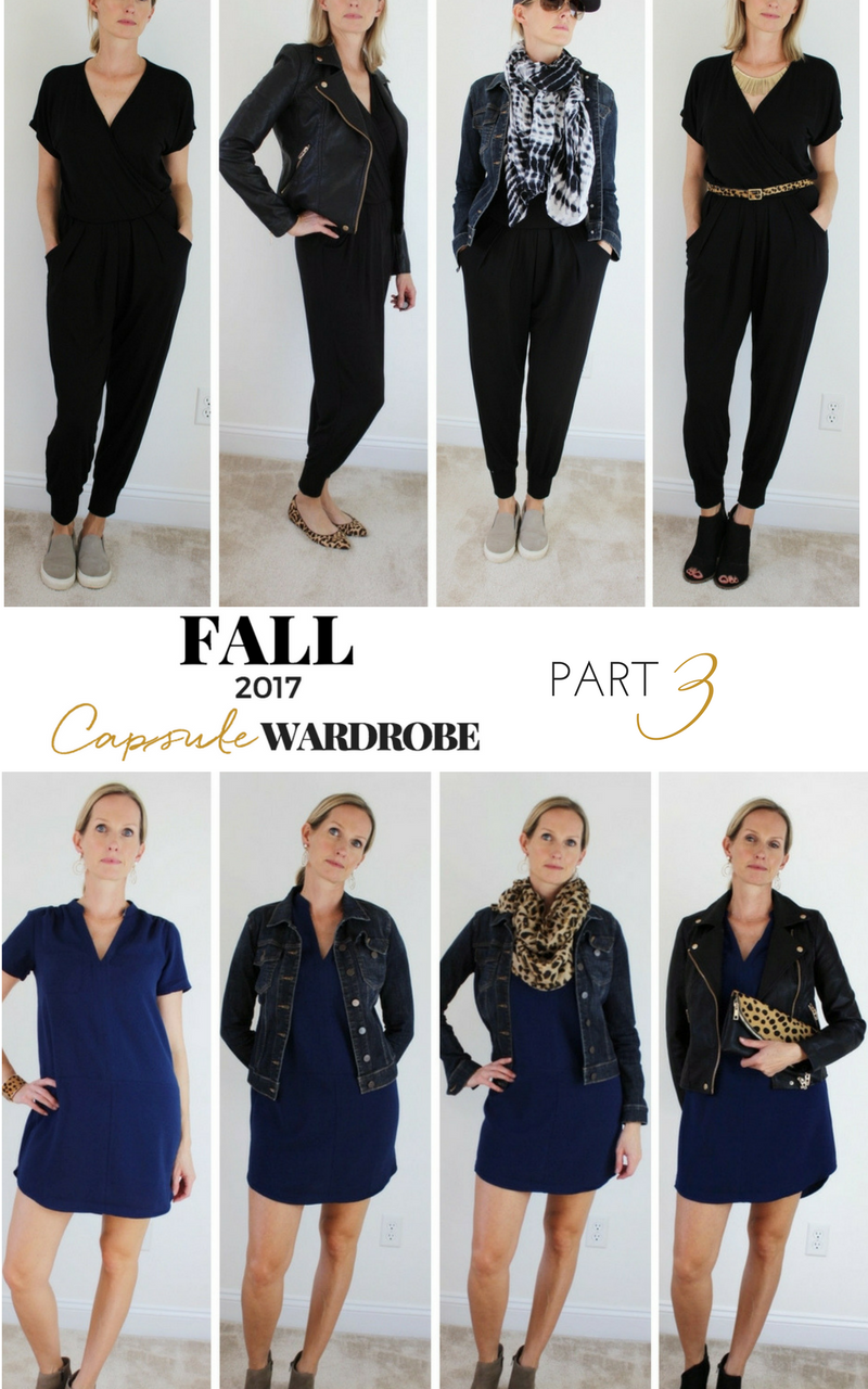 FALL WARDROBE CAPSULE PART 3 – DRESS & JUMPSUIT
