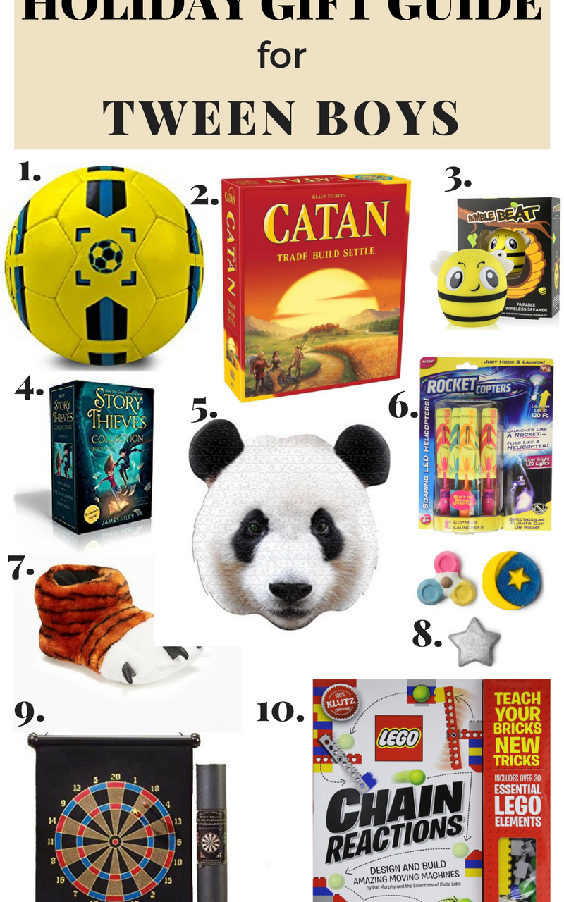 HOLIDAY GIFT GUIDES FOR BOYS