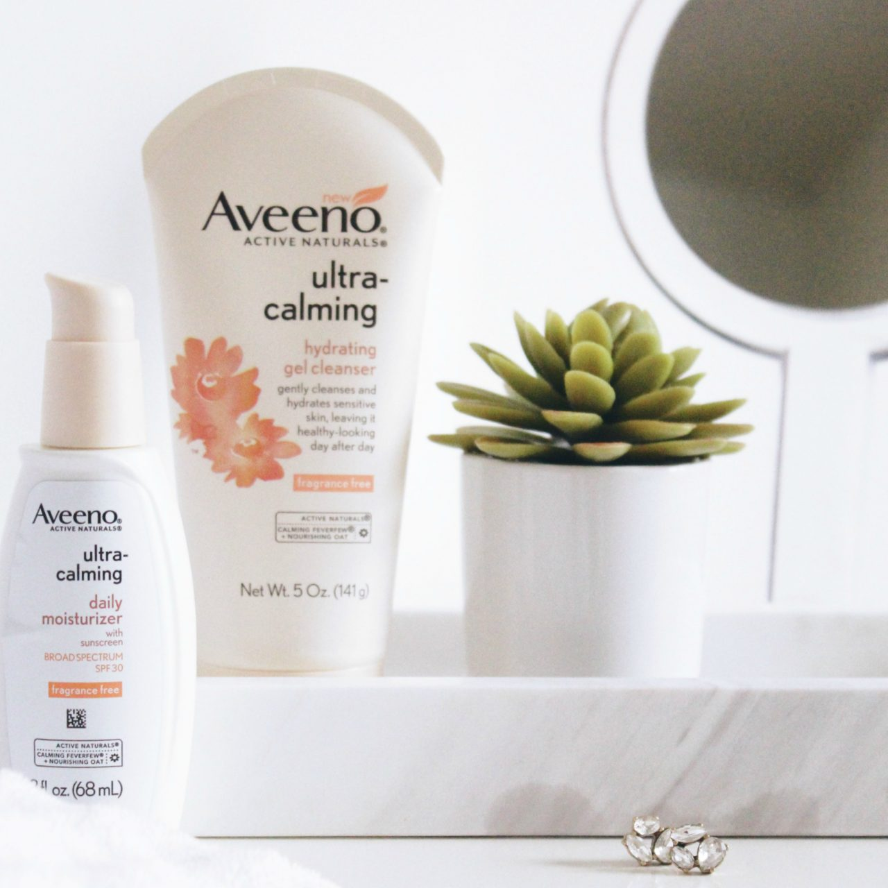 Ultra-Calming Skincare with Aveeno