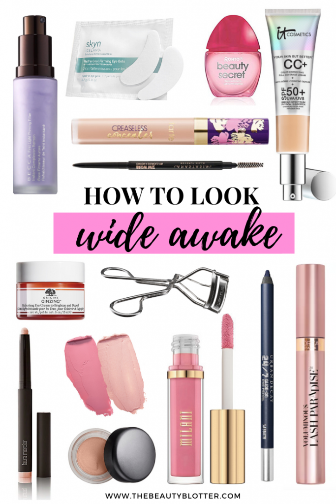 THE BEST MAKEUP TIPS FOR LOOKING LESS TIRED | I am sharing a few tips & tricks to help you look less tired and more awake when you haven't slept. I also talk about my best product recommendations for looking alive and wide awake. #wellrested