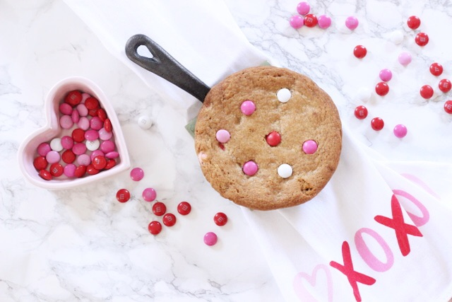 VALENTINES DAY MINI PIZOOKIE RECIPE