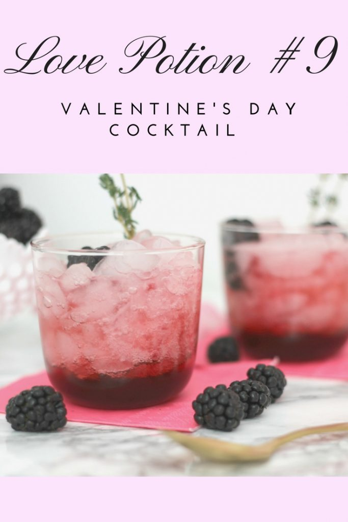 LOVE POTION #9 COCKTAIL | #valentinesday #valentinesdaycocktail #cocktail #easycocktail #valentinescocktailrecipe