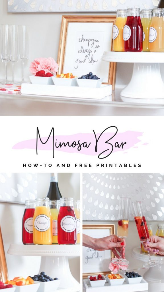 MIMOSA BAR | DIY MIMOSA BAR | MIMOSA BAR PRINTABLES | EASTER BRUNCH | EASTER BRUNCH IDEAS | BRIDAL SHOWER IDEAS | BABY SHOWER IDEAS | SUNDAY BRUNCH | BRUNCH BUFFETT | BRUNCH BAR | BACHELORETTE PARTY IDEAS | #MIMOSABAR