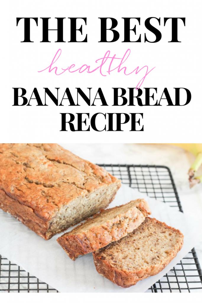 THE BEST HEALTHY BANANA BREAD RECIPE | BANANA BREAD RECIPE | EASY BANANA BEST | BANANA BREAD RECIPE WITH COCONUT OIL | BANANA BREAD WITH MAPLE SYRUP