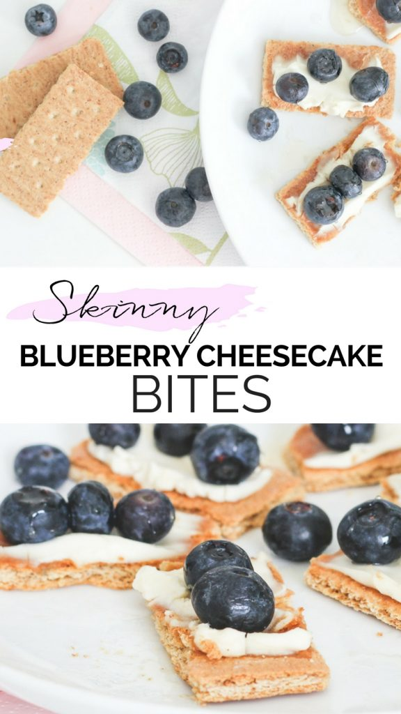 EASY LOW CALORIE SNACK IDEA | SKINNY SNACK IDEA | SKINNY BLUEBERRY CHEESECAKE BITES | DIET | SKINNY SNACK RECIPE | RECIPES | EASY SNACK IDEAS | SWEET SNACKS | SWEETTOOTH