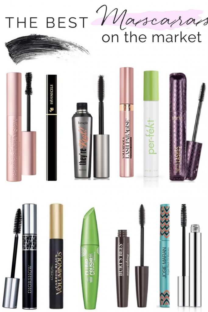 TOP 12 MASCARAS ON THE MARKET RIGHT NOW | THE BEST DRUGSTORE MASCARA | THE BEST CHEAP MASCARA | THE BEST HIGH END MASCARAS | THE BEST NON TOXIC MASCARAS | FOR LENGTH | WATERPROOF | EYES | FOR DRAMA | LASHES | THE BEST MASCARA EVER