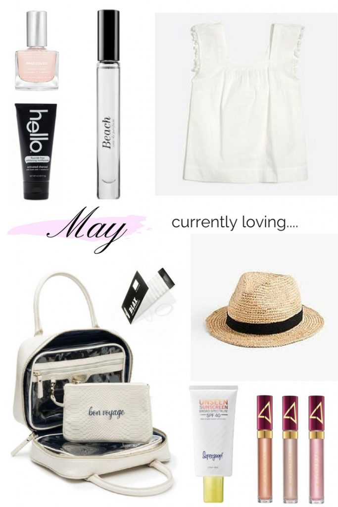 CURRENTLY LOVING    MAY EDITION   THINGS I AM CURRENTLY LOVING   SPRING   SUMMER   BEAUTY FAVORITES   FASHION FAVORITES   SUMMER FAVORITES   VACATION FAVORITES   FAVORITE THINGS   BEST SUMMER EYESHADOW   THE PERFECT SUMMER HAT   THE BEST TRAVEL MAKEUP BAG   THE BEST SUMMER FRAGRANCE   THE CUTEST SUMMER TOP   THINGS I AM CURRENTLY LOVING   SPRING   SUMMER   BEAUTY FAVORITES   FASHION FAVORITES   SUMMER FAVORITES   VACATION FAVORITES   FAVORITE THINGS   BEST SUMMER EYESHADOW   THE PERFECT SUMMER HAT   THE BEST TRAVEL MAKEUP BAG   THE BEST SUMMER FRAGRANCE   THE CUTEST SUMMER TOP
