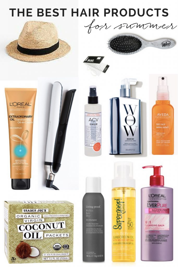 THE BEST HAIR PRODUCTS FOR SUMMER | THE BEST HAIR PRODUCTS FOR THE POOL | SUMMER HAIR CARE | SUMMER HAIR | FRIZZ FREE HAIR | COCONUT OIL | DRY SHAMPOO | BEAUTY MAKEUP | FLATIRON | #SUMMERHAIR #SUMMERHAIRPRODUCTS