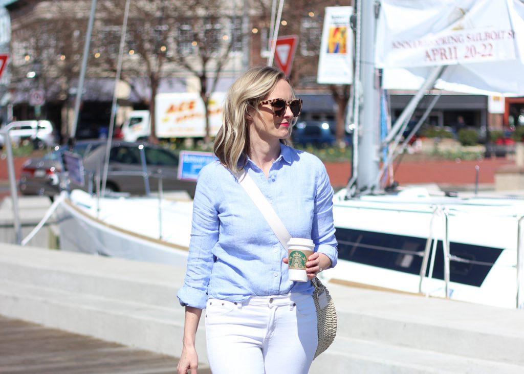 A SUMMER STAPLE - THE LINEN SHIRT | summer, linen, shirt, versatile, outfit, women's, travel, beach