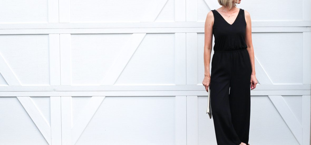 The Perfect Date Night Jumpsuit and Fall Transition Piece