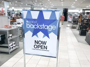 Macy's Backstage  Review and Grand Opening!