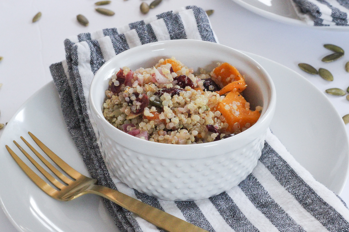 Fall Butternut Squash Quinoa Salad