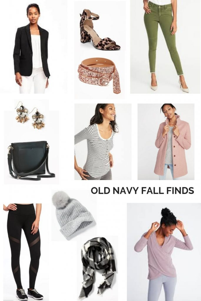 My Favorite Old Navy Fall Fashion Finds | From a cute pair of animal print heels, to the coziest and softest sweatshirt, this post has a bit of everything to keep you looking fashionable on a budget this fall. #outfitideas #ONtrend #fallstyle #momoutfit #0ver40style