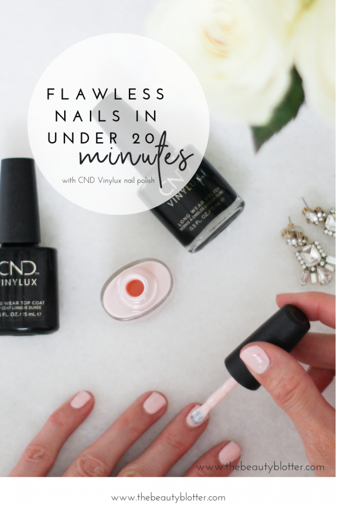 How to achieve Flawless Nails in under 20 Minutes | I am sharing my best beauty hack for flawless nails in under 20 minutes and how to get out of the door fast! AD #beautyhack #quickmanicure #fastmanicure #CNDVINYLUXatRA #manimonday #fallnailpolish #tricks #colors #CollectiveBias