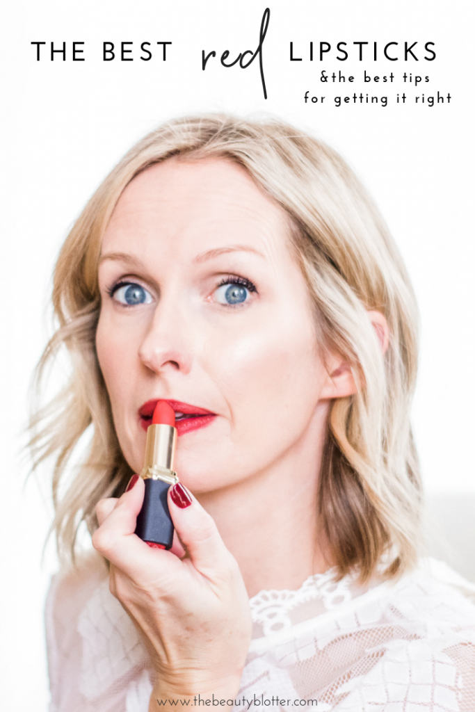 HOW TO MASTER THE HOLIDAY RED LIP   I am sharing my top tips for achieving the iconic holiday red lip and my favorites shades that flatter anyone. #redlipstick #holidayred #holidaylip #redlip