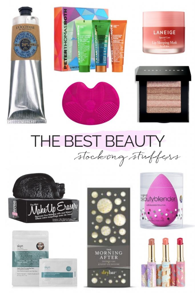 THE BEST BEAUTY GIFTS & STOCKING STUFFERS | The perfect gift ideas for the beauty lovers in your life, including some fabulous stocking stuffers. #giftguide #beautygifts #giftidea #stockingstuffers