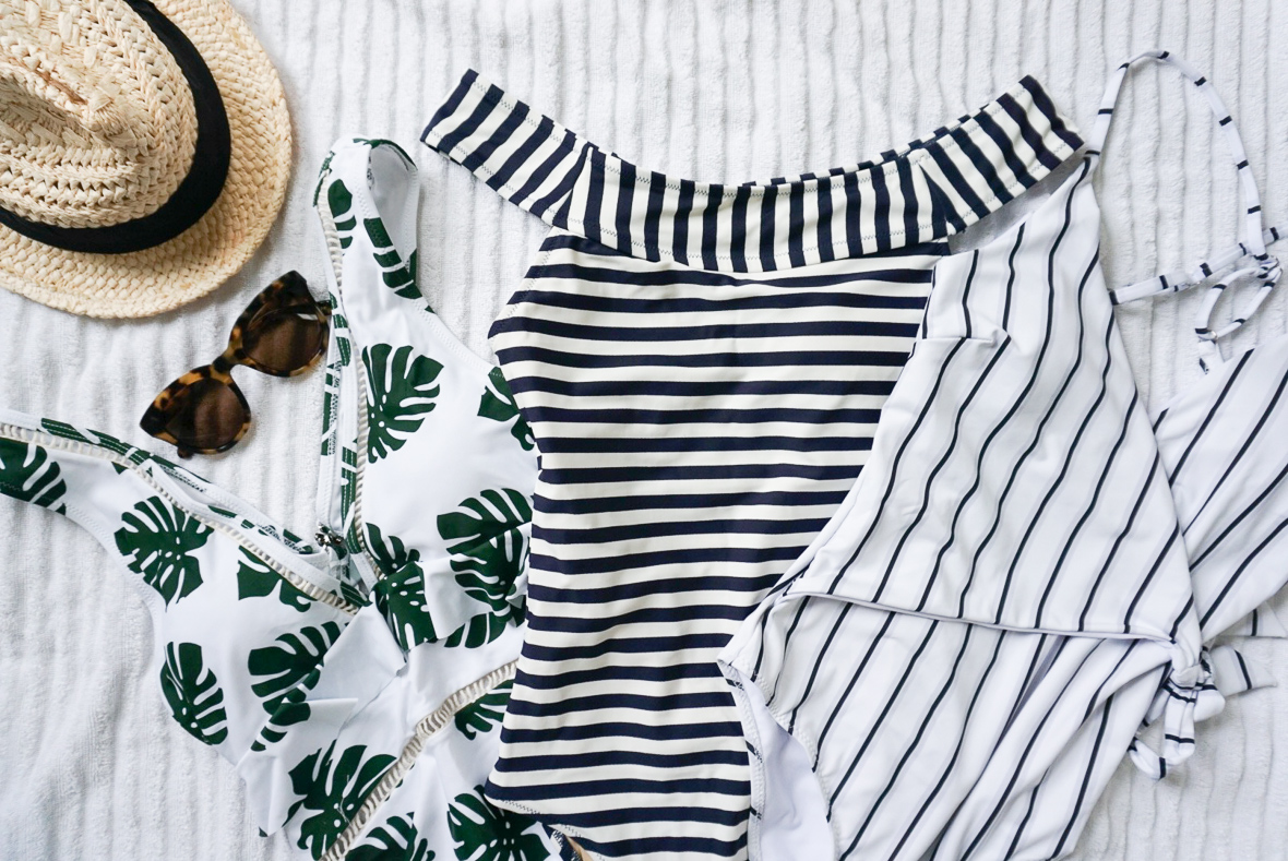 THE MOST FLATTERING & AFFORDABLE BATHING SUITS FOR MOMS