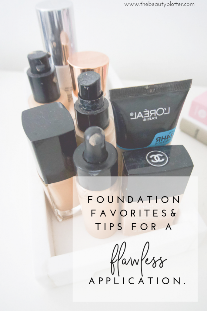 8 TIPS FOR FLAWLESS FOUNDATION APPLICATION | I am sharing my best tips for achieving a flawless foundation application, as well as my favorite foundations for dry, sensitive and mature skin. #foundationtutorial #over40makeup #over40 #makeuptutorial #matureskin #dryskin