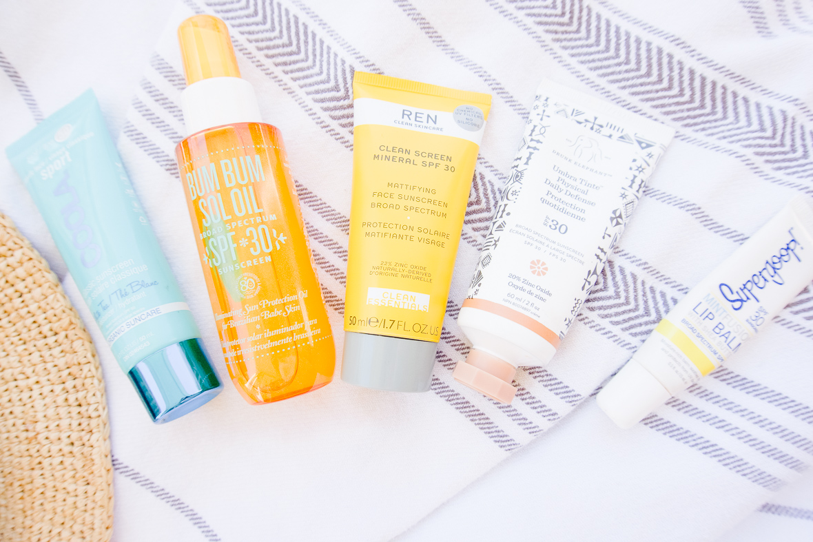 MY TOP SUNSCREENS FOR FACE & BODY