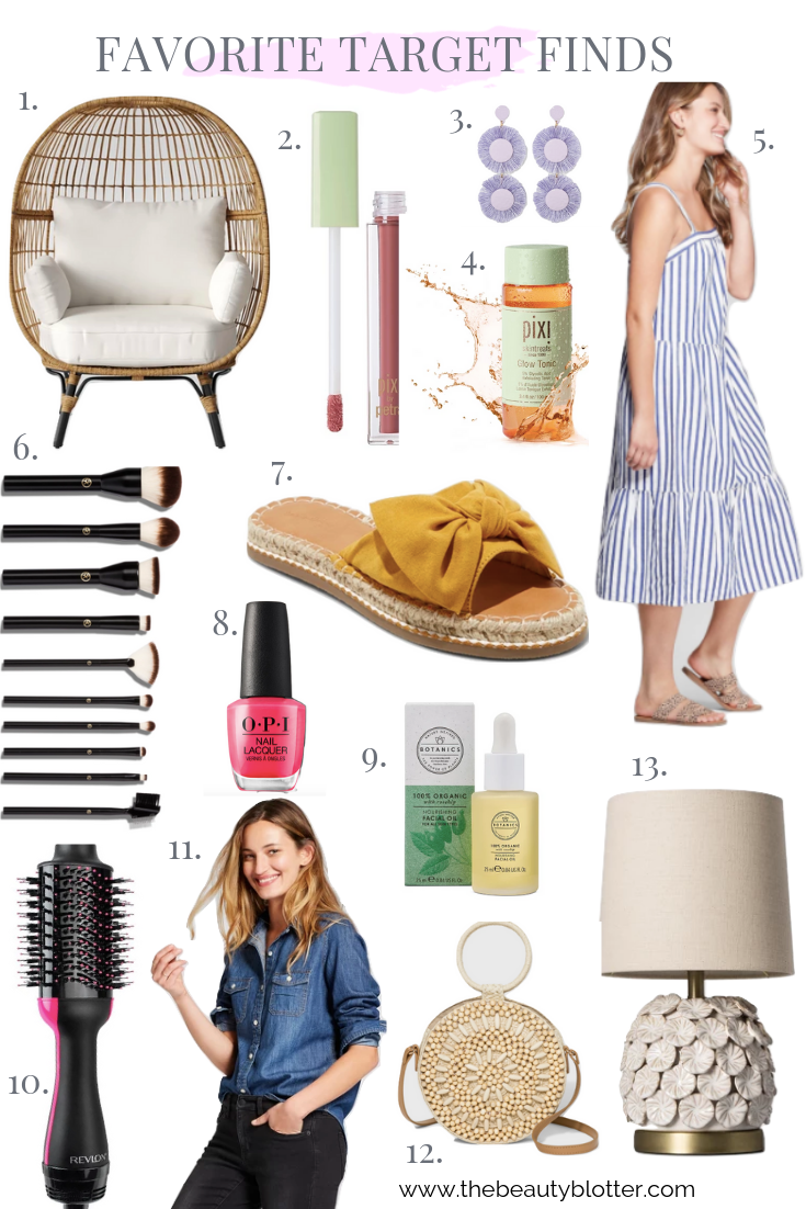 FAVORITE TARGET FINDS | I am sharing my favorite Target finds on the blog today, including beauty, fashion and home goods, and I am giving away a $250 Gift Card on my Instagram. #targetfinds #targetdoesitagain #targethaul #budgetfashion