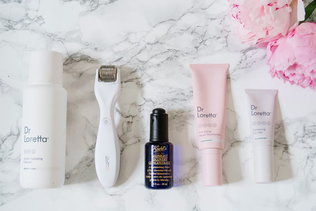 SUMMER SKINCARE ROUTINE   I am sharing my summer skincare routine for mature, sensitive skin with rosacea. It is simple and effective with just a few steps in the morning and evening. PErfect anti-aging regimen for the busy woman