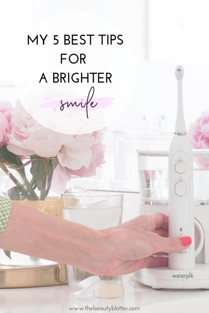 (#AD) MY 5 BEST TIPS FOR A BRIGHTER SMILE | I am sharing my 5 best tips for a brighter smile, because nothing is more youthful than a bright, confident smile. Make sure to incoorporate these 5 tips into your daily anti-aging regimen to keep your teeth and mouth young and healthy looking. (#AD) MY 5 BEST TIPS FOR A BRIGHTER SMILE | I am sharing my 5 best tips for a brighter smile, because nothing is more youthful than a bright, confident smile. Make sure to incoorporate these 5 tips into your daily anti-aging regimen to keep your teeth and mouth young and healthy looking. #FlossLikeABossSonicFusion, #FIRSTFlossingToothbrush, #FlossTheGoodFight, #BeAFlossBoss, #Waterpik, #SonicFusion