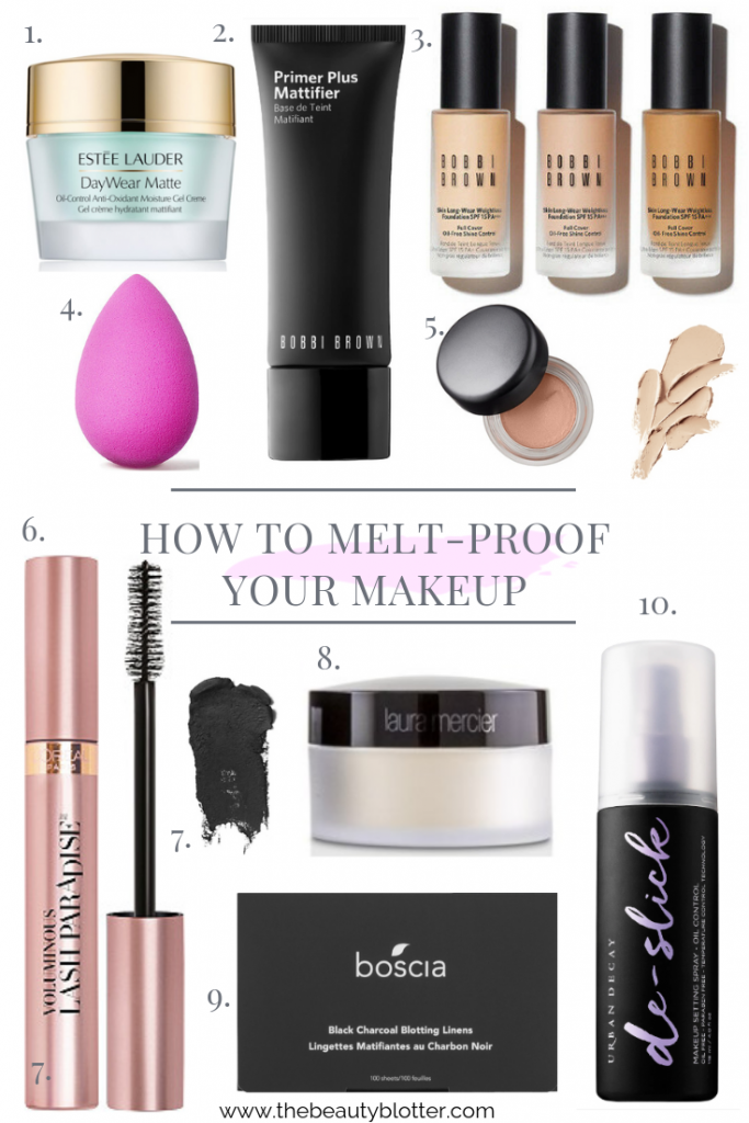 HOW TO MELT-PROOF YOUR MAKEUP |  I am sharing my best tips & product recommendations for how to melt-proof your makeup during the hot and humid summer months.