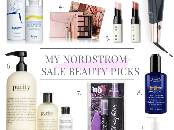 MY TOP NORDSTROM SALE BEAUTY PICKS