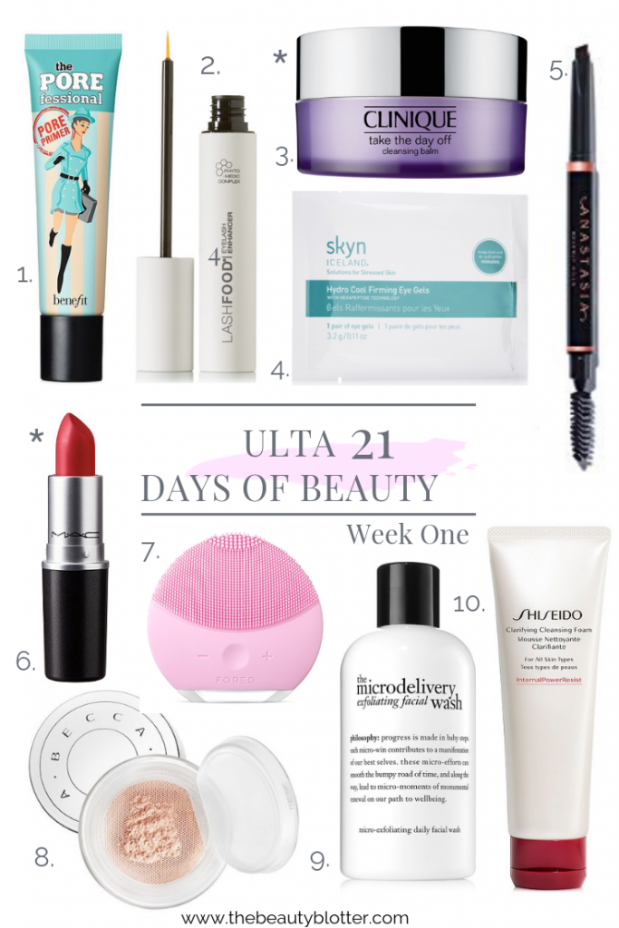 21 Days of Beauty Event at Ulta   I am sharing my best beauty deals from the Ulta 21 Days of Beauty event for week 1 on the blog today. You don't want to miss it. Everything in my post is 50% off.