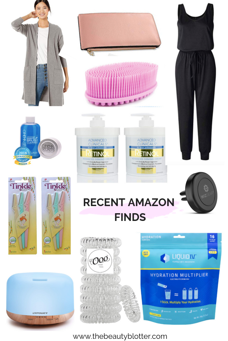 RECENT FAVORITE AMAZON FINDS |