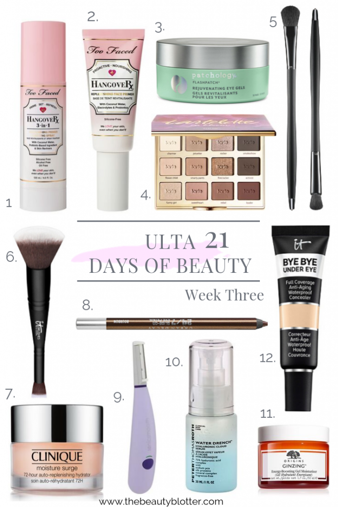21 DAYS OF BEAUTY EVENT AT ULTA - WEEK 3 | I am sharing my favorites from the 21 days of Beauty Event at Ulta for week 3, including a lot of skincare goodies and beauty tools.