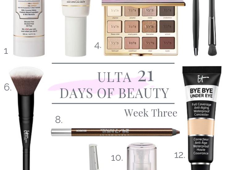 21 DAYS OF BEAUTY EVENT AT ULTA – WEEK 3