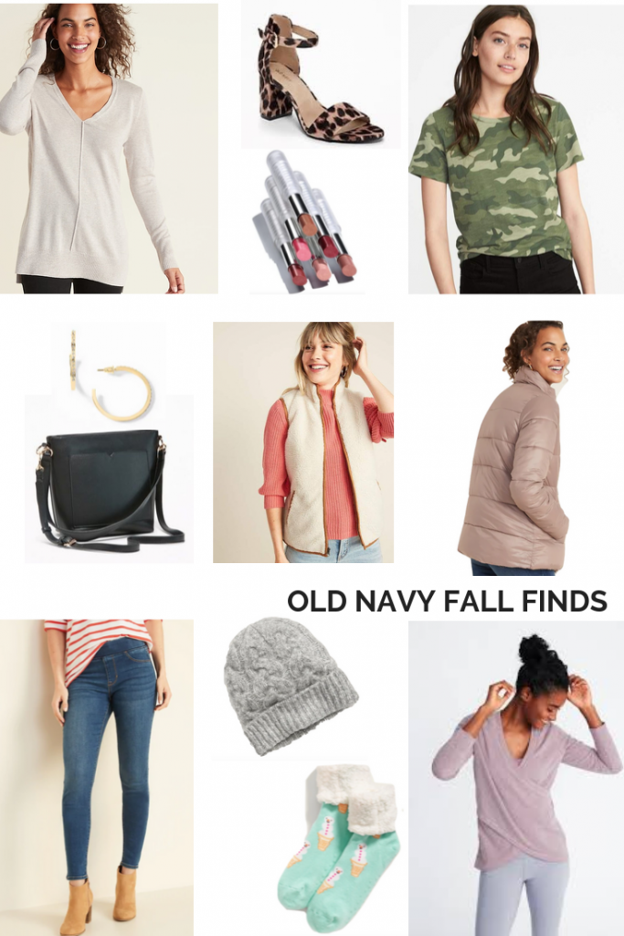 OLD NAVY FAVORITE FALL FINDS | I am sharing my Old Navy favorite Fall finds on the blog today, including a fleece lined winter jacket ,and some great stocking stuffer ideas