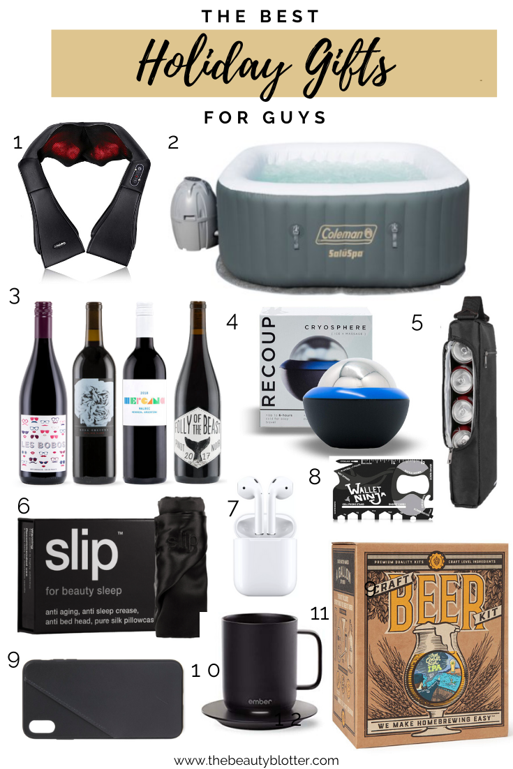 THE BEST HOLIDAY GIFTS FOR GUYS | I am sharing the best holiday gift ideas for guys in my Gift Guide on the blog today, ranging from stocking stuffers to the ultimate gift any guy will love.
