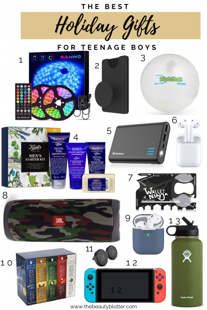 THE BEST HOLIDAY GIFTS FOR TEENAGE BOYS & GIRLS | Teenagers can be notoriously hard to shop for, but I have you covered with the best holiday gifts for teenage boys & girls.