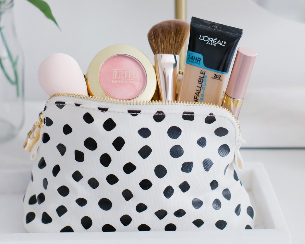 THE BEST DRUGSTORE MAKEUP PRODUCTS FOR WOMEN 40+   I am sharing the best drugstore makeup products for women over 40, and a quick & easy makeup tutorial, perfect for Zoom calls from your home office. #homeoffice #drugstoremakeup #makeupover40