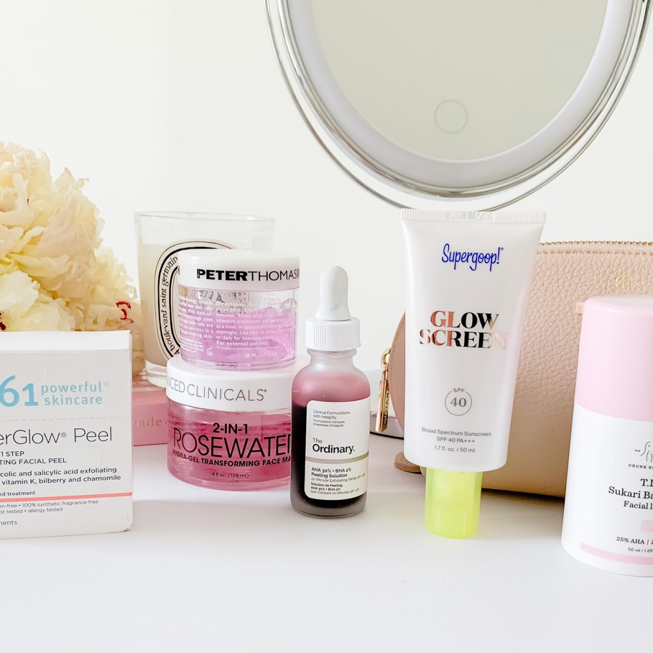 MY FAVORITE SKINCARE PRODUCTS FOR GLOWING SKIN