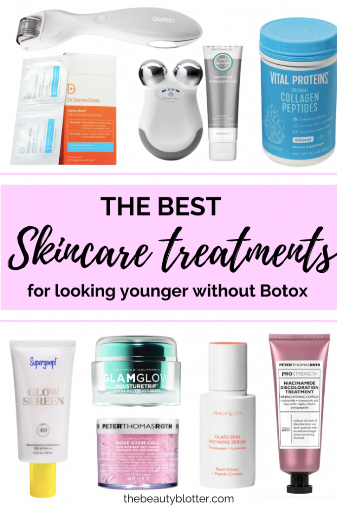 HOW TO LOOK & FEEL YOUNGER WITHOUT BOTOX | If you are not quite ready for Botox, read my post about how to look & feel younger without it. I share my best product recommendation for how to look younger naturally, if you are over 40. This includes hair,skincare and beauty tools.