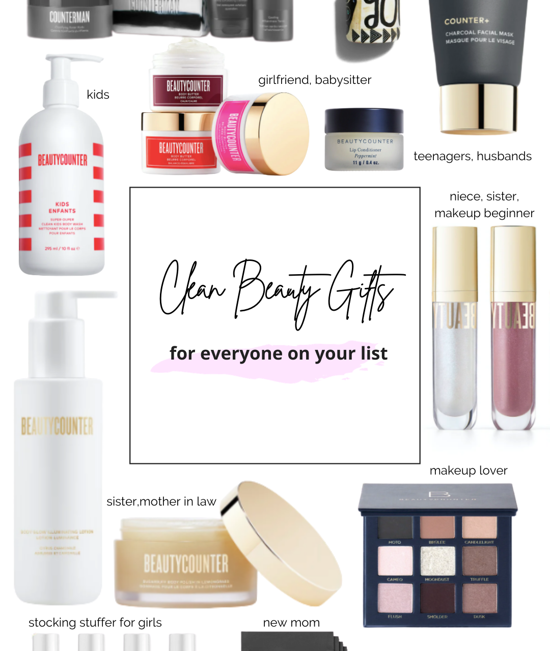 CLEAN BEAUTY GIFTS FOR EVERYONE ON YOUR LIST