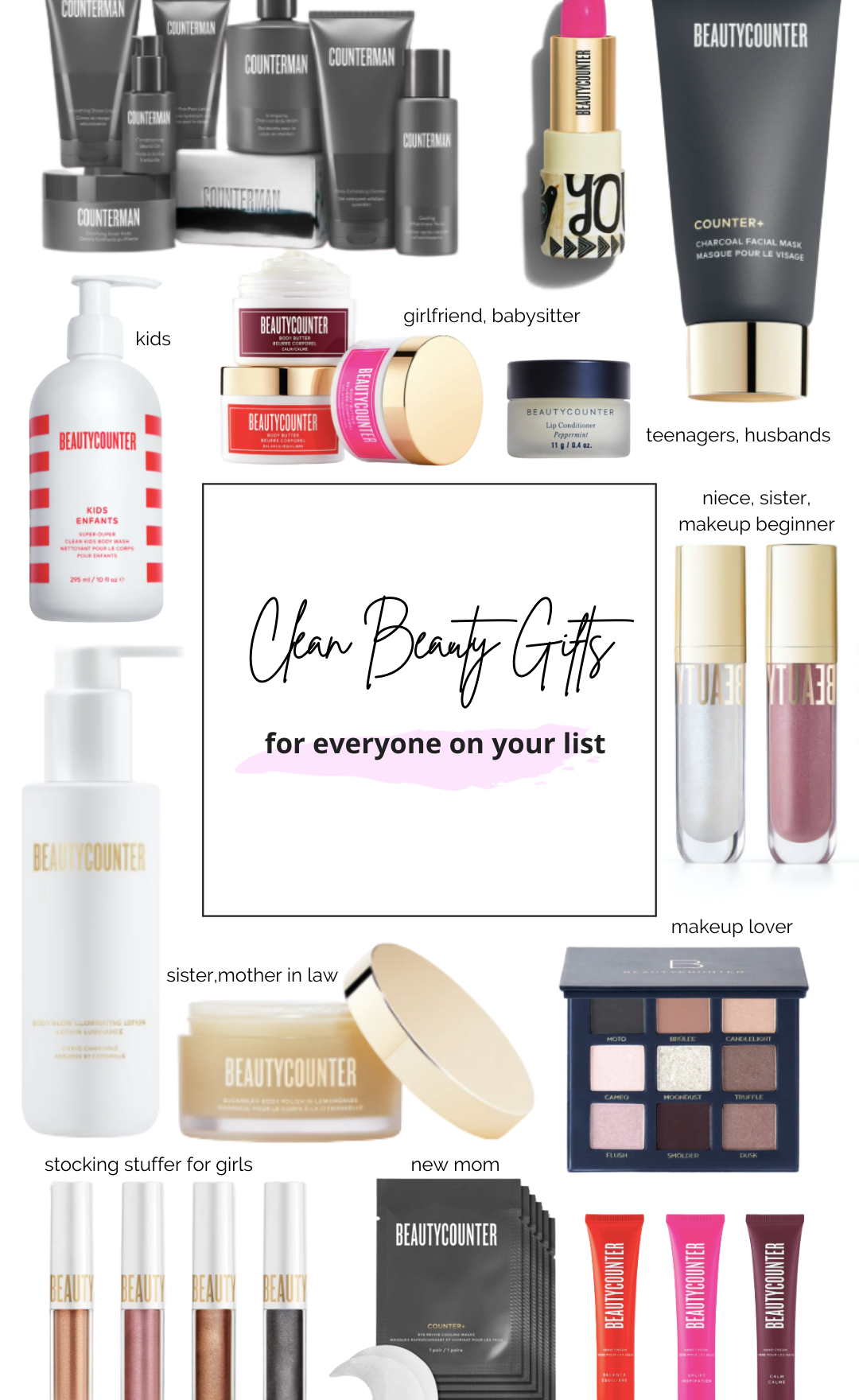 THE BEST CLEAN BEAUTY GIFTS FOR EVERYONE ON YOUR LIST