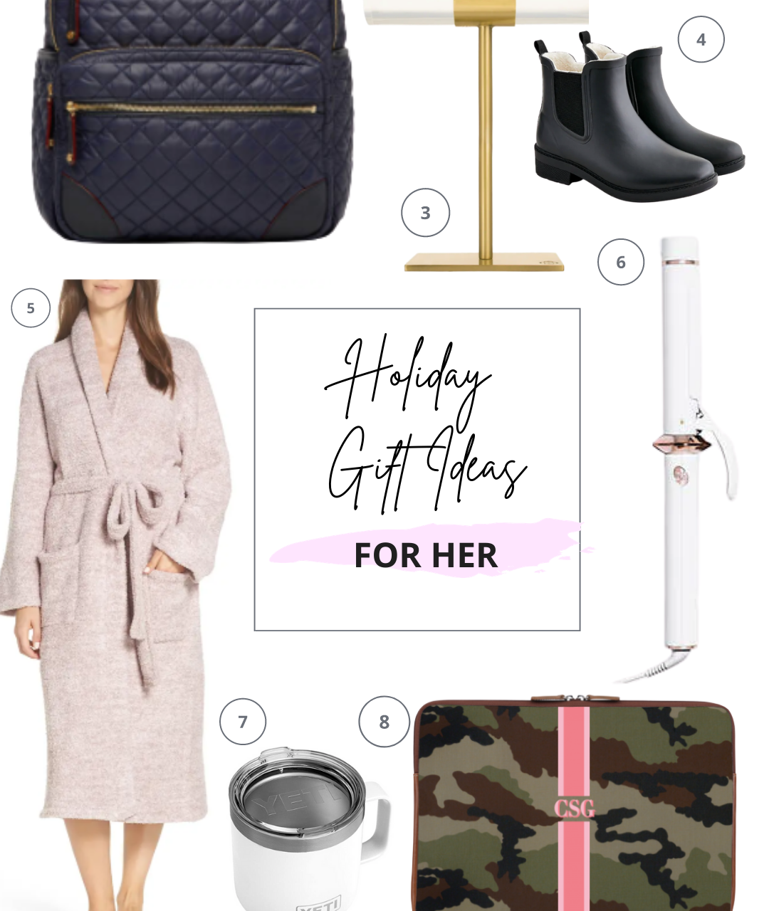 THE BEST HOLIDAY GIFT IDEAS FOR HER 2020