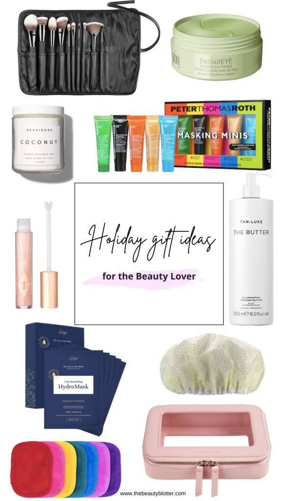 THE BEST HOLIDAY GIFT IDEAS FOR THE BEAUTY LOVER | I am sharing the best holiday beauty gift ideas on the blog.  There is something for everyone on your list and includes everything from luxury beauty, to stocking stuffers! #giftguide #giftguides #giftsforher #beautygifts