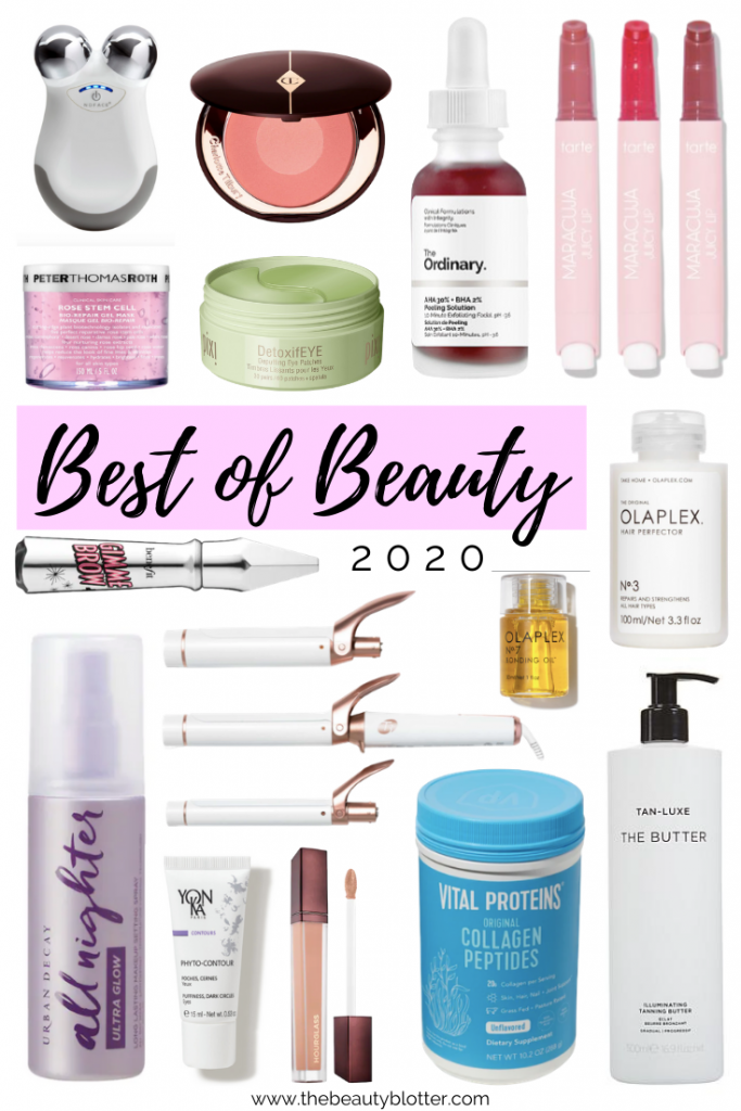 MY FAVORITE BEAUTY PRODUCTS OF 2020 | I am sharing my favorite beauty products of 2020 on my blog today. This includes the best drugstore beauty products, beauty tools, skincare and makeup products.