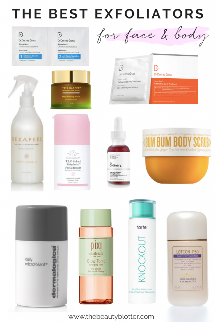 Dry and dull skin got you down? Today I am sharing the best exfoliators for the face & body, including my personal favorites.